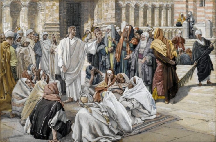 2Brooklyn Museum The Pharisees Question Jesus Les pharisiens questionnent Jsus James Tissot