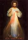 Obraz Jezusa Miłosiernego, czczony w kościele p.w. Miłosierdzia Bożego w Wilnie