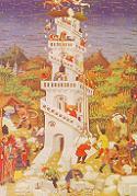 Mistrz Djuka z Bedford, Budowanie wierzy Babel. Połączono ze stroną: CGFA - http://cgfa.sunsite.dk/d/p-duke1.htm